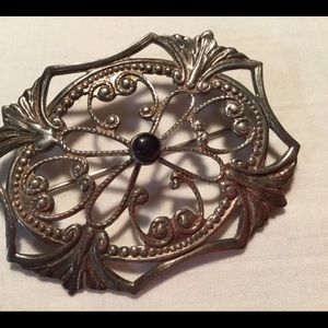 New listing Victorian brooch  French clasp